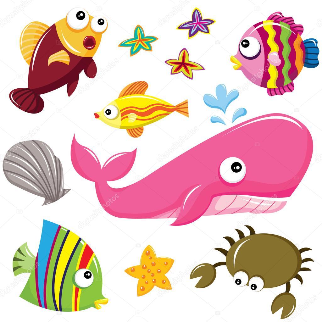 Underwater sea creatures clipart picture freeuse stock Sea Creature Clipart | Free download best Sea Creature ... picture freeuse stock