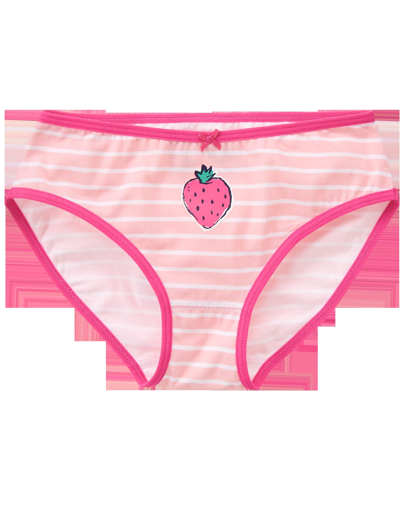 Undies girl from behind clipart vector library download Strawberry Underwear | kids fashion-girls | Toddler ... vector library download