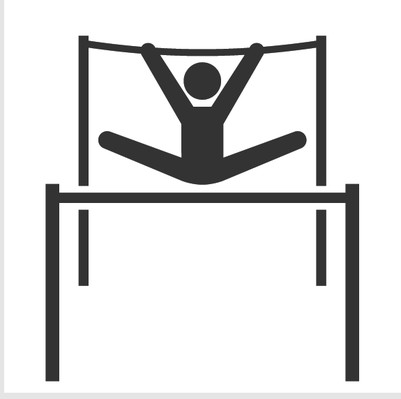 Uneven clipart free download Athletics and Gymnastics Icon Set - Uneven Bars | Clipart ... free download