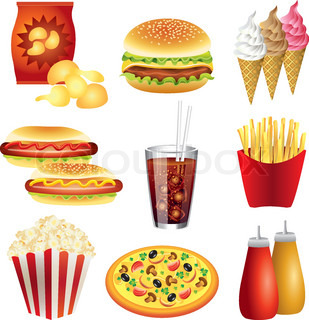 Ungesundes essen clipart clipart black and white Ungesundes essen clipart - ClipartFest clipart black and white