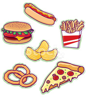 Ungesundes essen clipart clip transparent Fast Food stock-vektorgrafiken - Clipart.me clip transparent