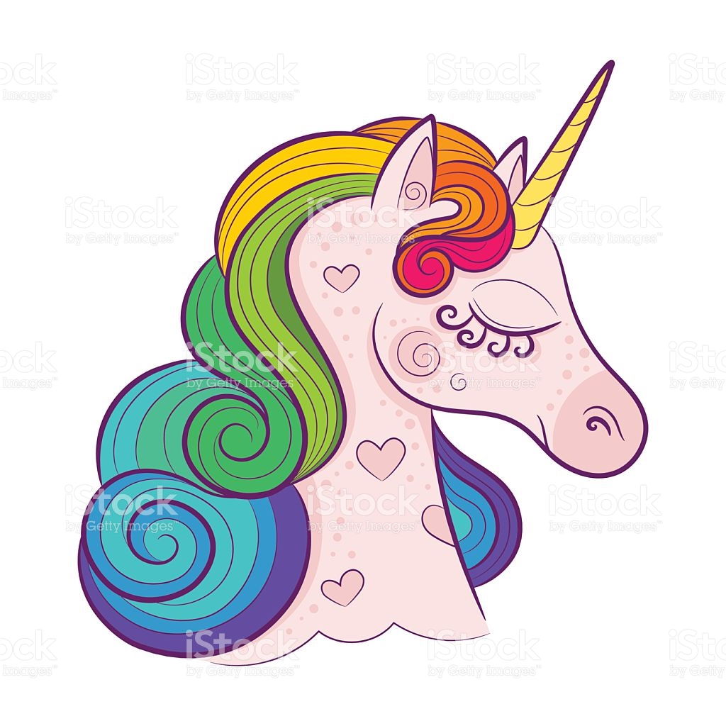 Unicorn clipart with colorful mane png library library Rainbow Unicorn Clipart | Free download best Rainbow Unicorn ... png library library