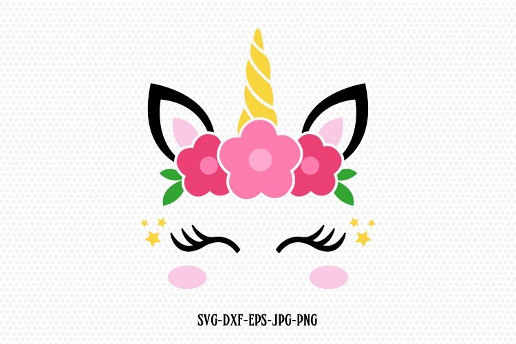 Unicorn photo face cut out clipart royalty free stock unicorn svg, unicorn eyelashes, unicorn birthday svg, Magical unicorn svg,,  unicorn face svg, Cricut, Silhouette Cut File, SVG DXF EPS royalty free stock