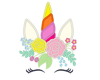 Unicorn flower crown clipart etsy jpg free Flower Crown Clipart | Free download best Flower Crown ... jpg free