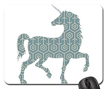 Unicorn horses clipart svg transparent stock Amazon.com : Mouse Pads - Unicorn Horse Clipart Sticker ... svg transparent stock