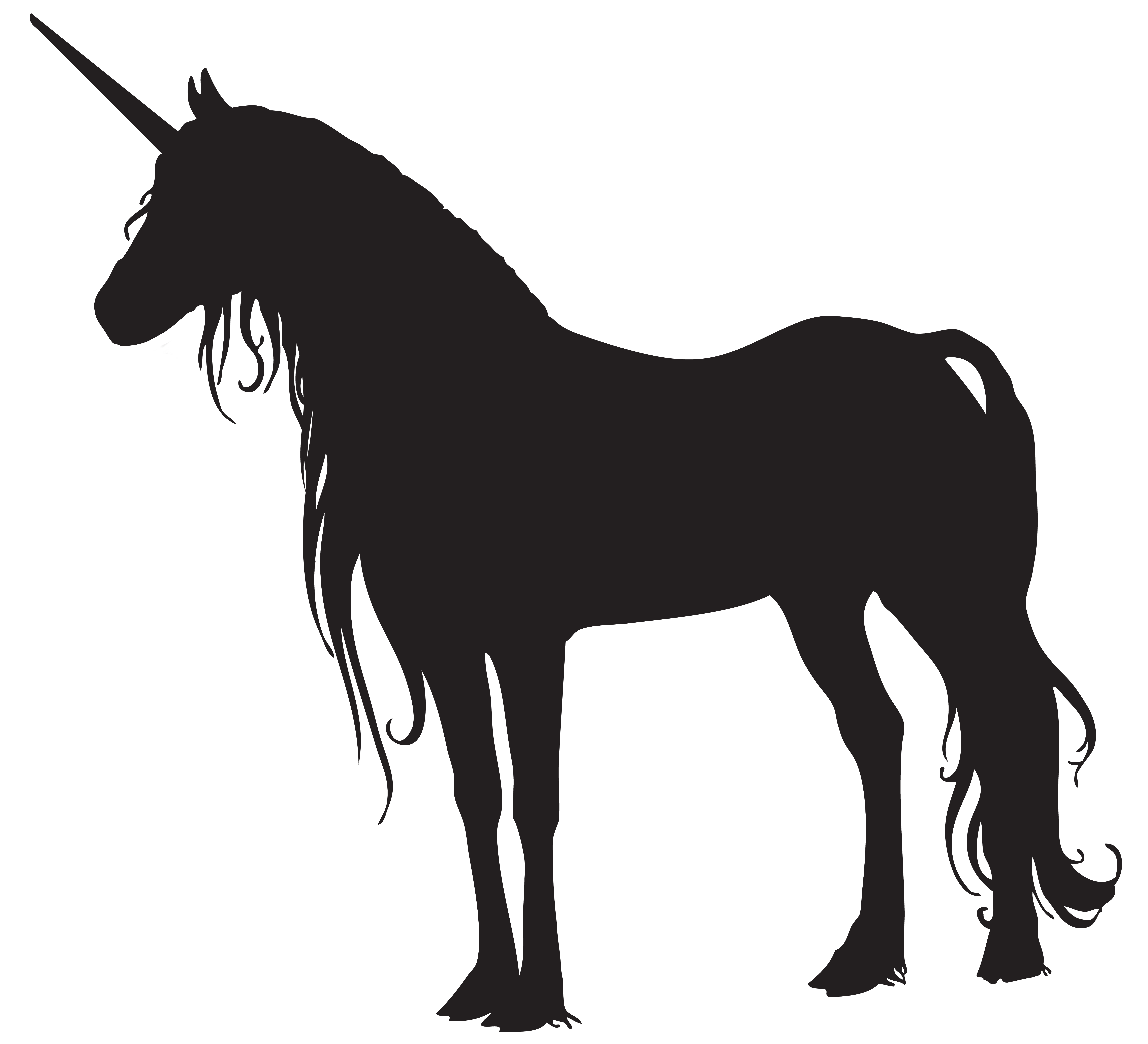 Unicorn horses clipart vector free download Silhouette Unicorn Horse Clip art - unicorn png download ... vector free download