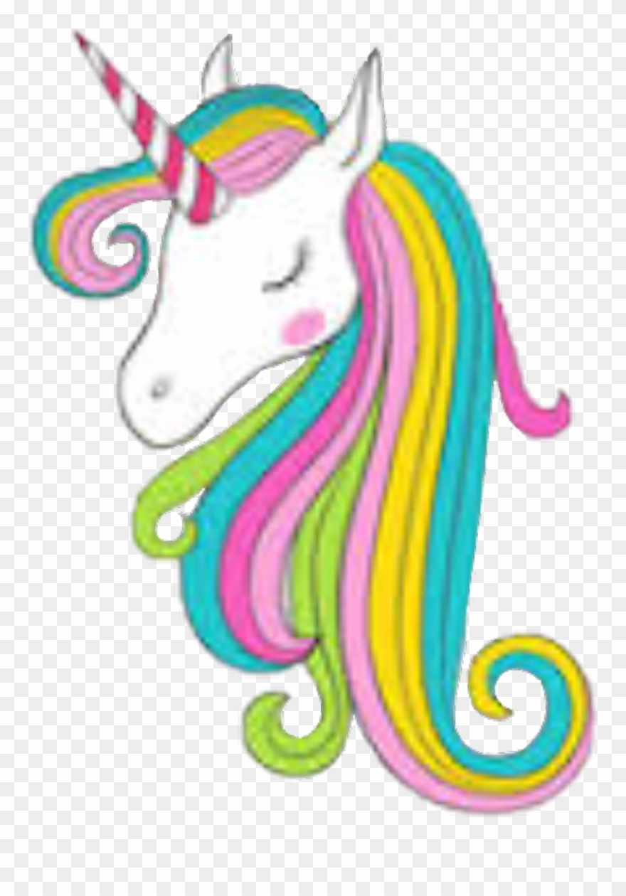 Unicorns and rainbows clipart jpg transparent library unicorn #rainbow #horses #unicornio Unicorns ... jpg transparent library