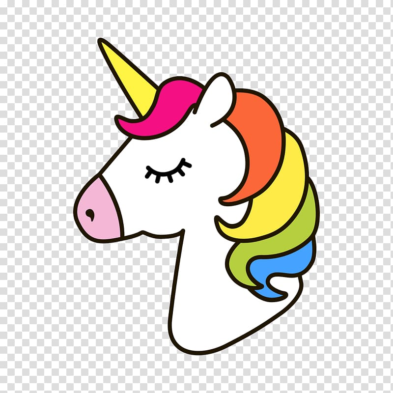 Unicorn horses clipart png freeuse download White and multicolored unicorn illustration, Unicorn Horse ... png freeuse download