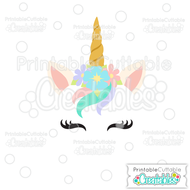 Unicorn photo face cut out clipart svg free Unicorn Face Free SVG Cutting File for Silhouette, Cricut ... svg free