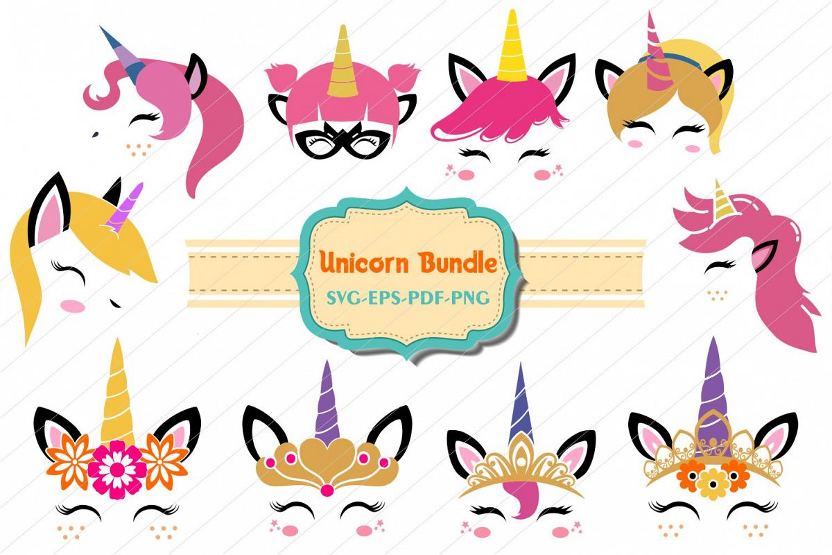 Unicorn photo face cut out clipart free download unicorn bundle, Unicorn svg, unicorn face cut files, licorne free download