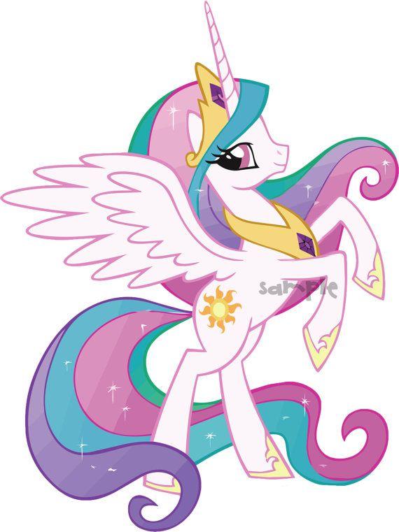 Unicorn princess clipart vector stock My Little Pony Princess Unicorn Digital Clip art by ... vector stock