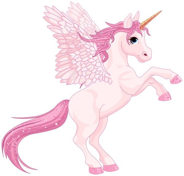 Unicorn with a crown clipart clip art freeuse download Cute Pink Pegasus PNG Clipart Image | Clip Arts cartoon images ... clip art freeuse download