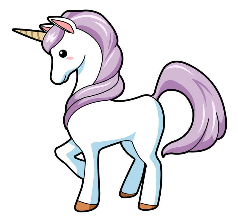 Unicorn with a crown clipart graphic free Unicorn Clipart Images Free Download【2018】 graphic free
