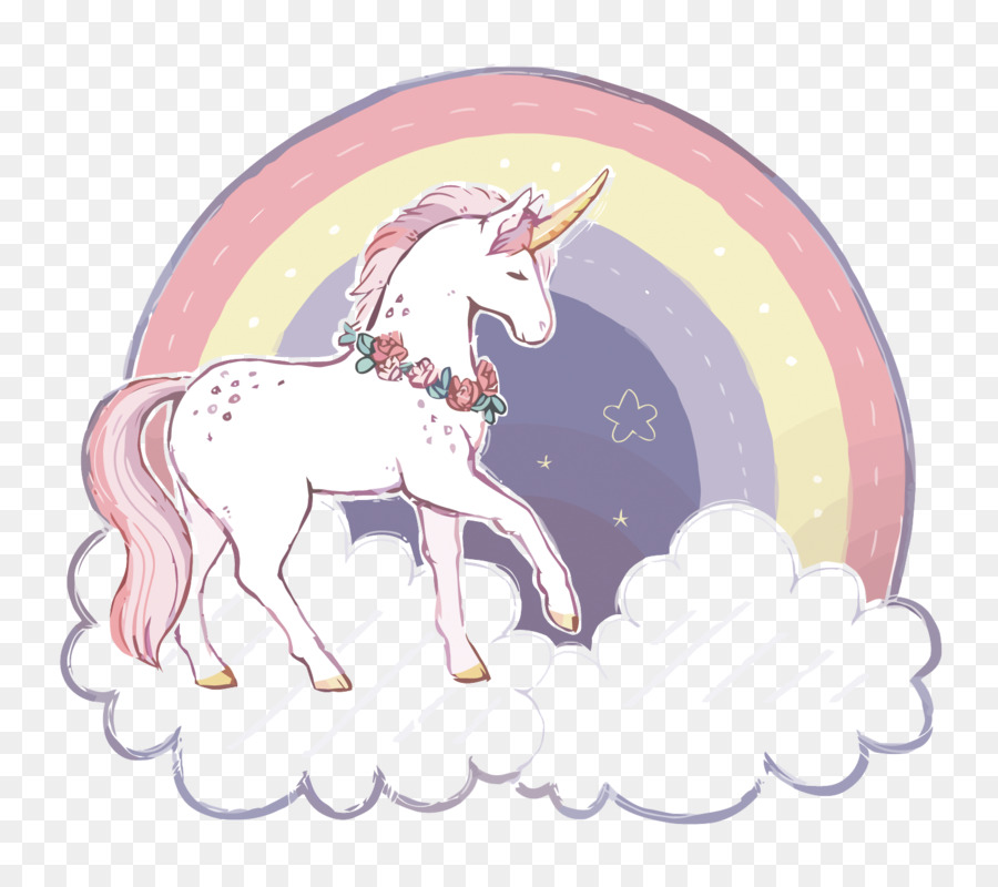 Unicorns and rainbows clipart graphic black and white stock Rainbow Color Background png download - 1500*1329 - Free ... graphic black and white stock