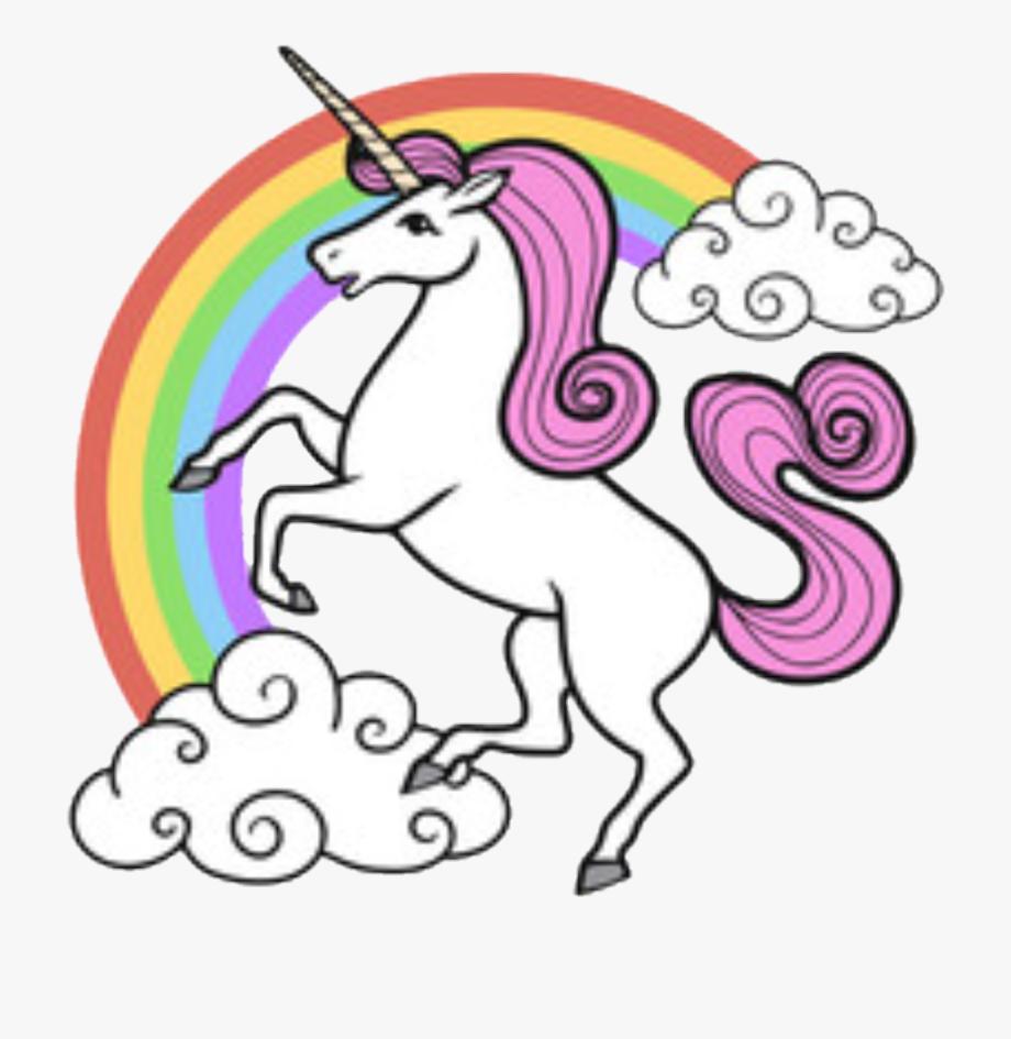 Unicorns and rainbows clipart vector stock Drawing Unicorns Rainbow Unicorn - Cartoon Image Of Unicorn ... vector stock