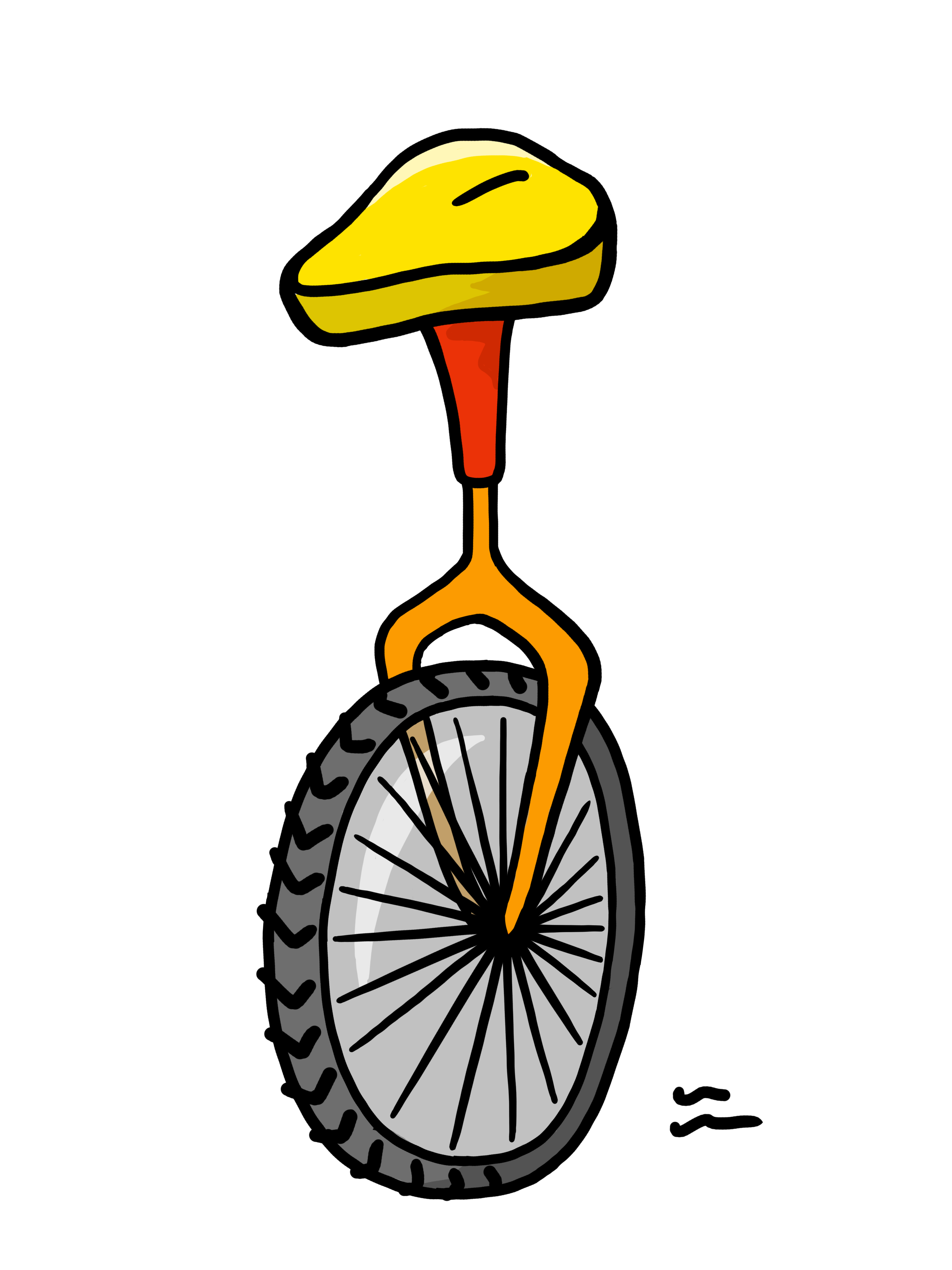 Unicycle clipart png transparent stock Unicycle Clipart free image png transparent stock
