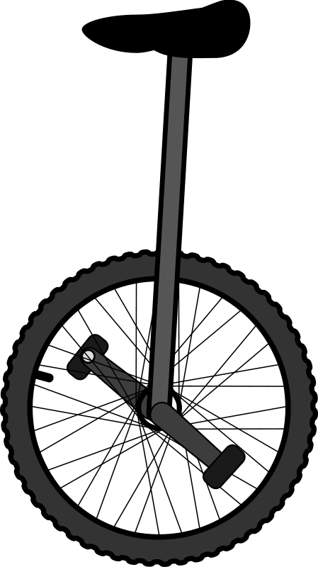 Unicycle clipart banner download Free Clipart: Unicycle | bradpitcher banner download