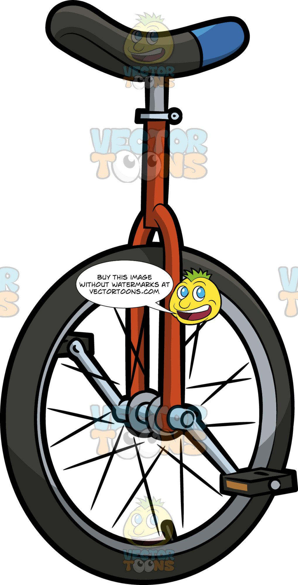 Unicycle clipart clip art library A Regular Unicycle clip art library