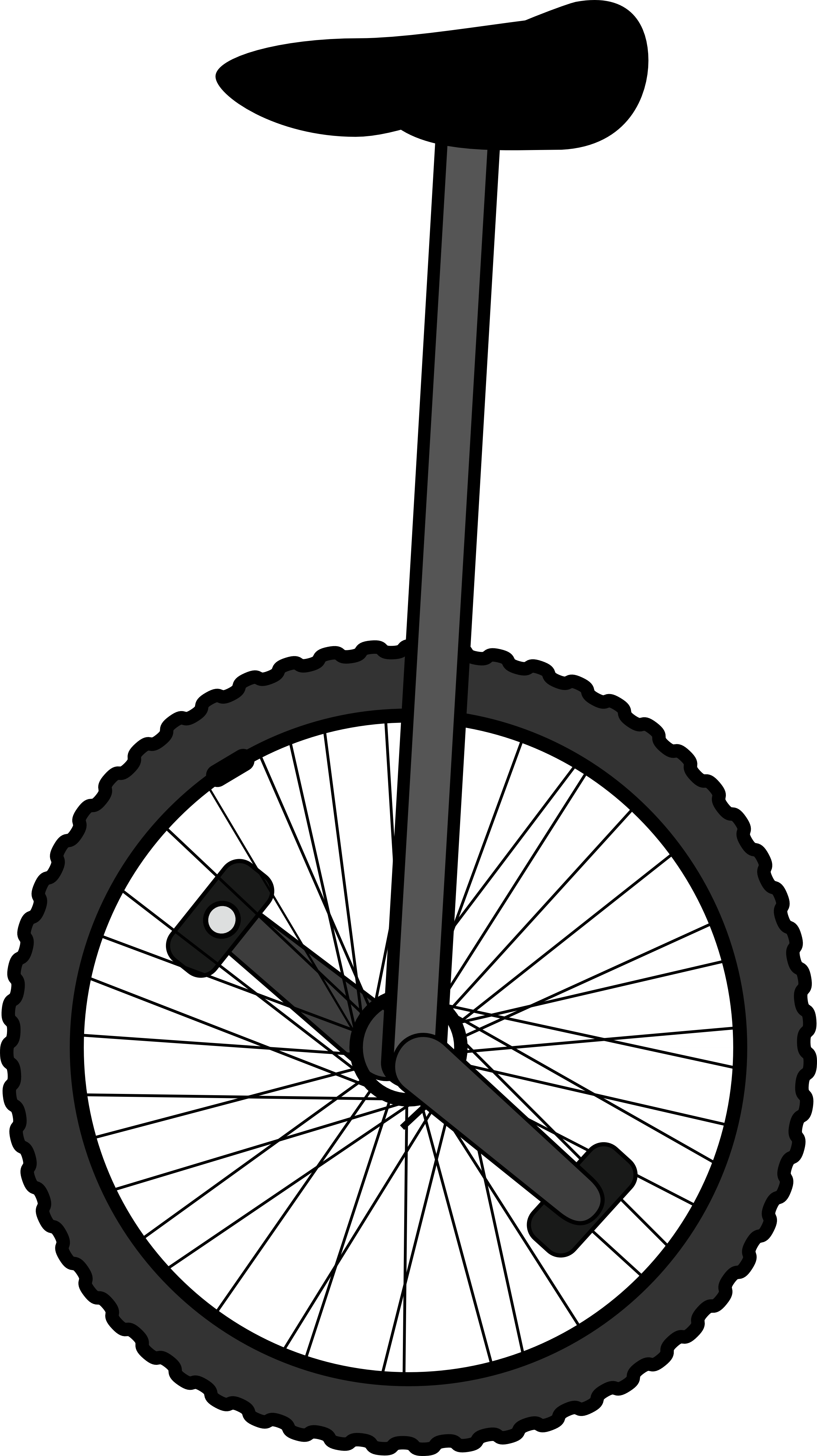 Unicycle clipart black and white clip art black and white library Unicycle clipart black and white 5 » Clipart Portal clip art black and white library