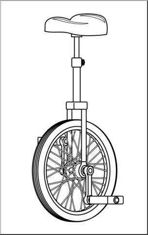 Unicycle clipart black and white png freeuse download Unicycle clipart black and white 4 » Clipart Portal png freeuse download