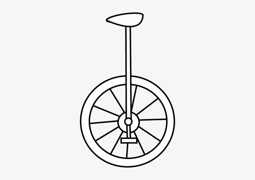 Unicycle clipart black and white banner stock Unicycle Clipart Black And White - Vsco App Icon Png ... banner stock