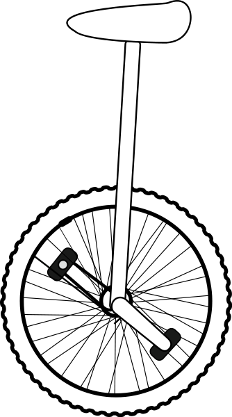 Unicycle clipart black and white vector free stock Free Unicycle Cliparts, Download Free Clip Art, Free Clip ... vector free stock