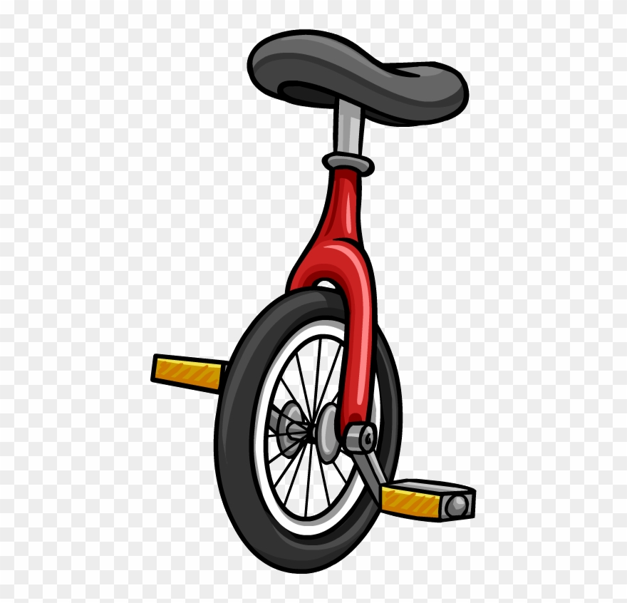 Unicycle clipart clip black and white download Unicycle Picture - Unicycle Clipart - Png Download (#186992 ... clip black and white download
