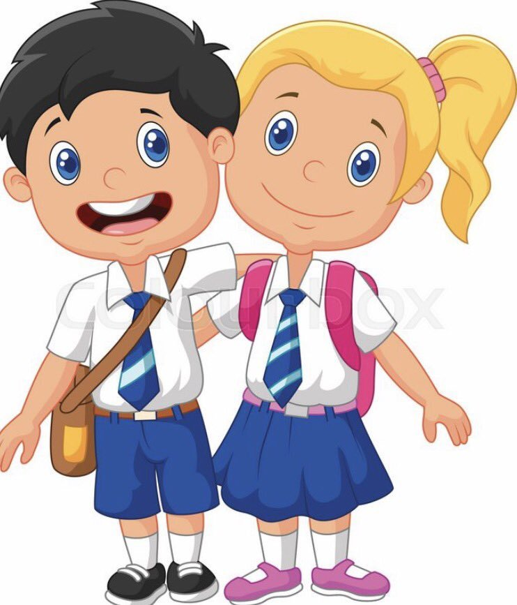 Uniform clipart banner library library Wearing school uniform clipart 1 » Clipart Portal banner library library