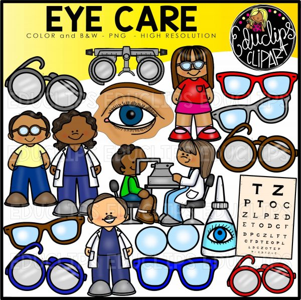 Unimpaired clipart clip royalty free The Human Ear & Eye Clip Art Bundle clip royalty free