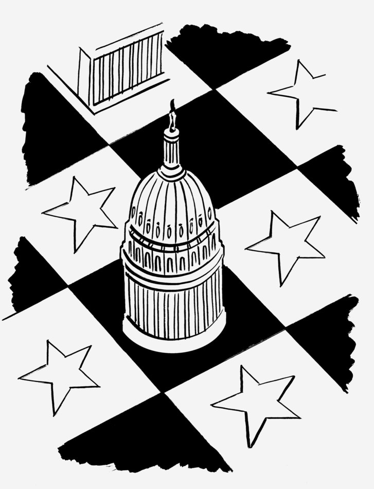 Unimpeded by others clipart jpg library The Urgency of the 2020 Senate Race | The New Yorker jpg library