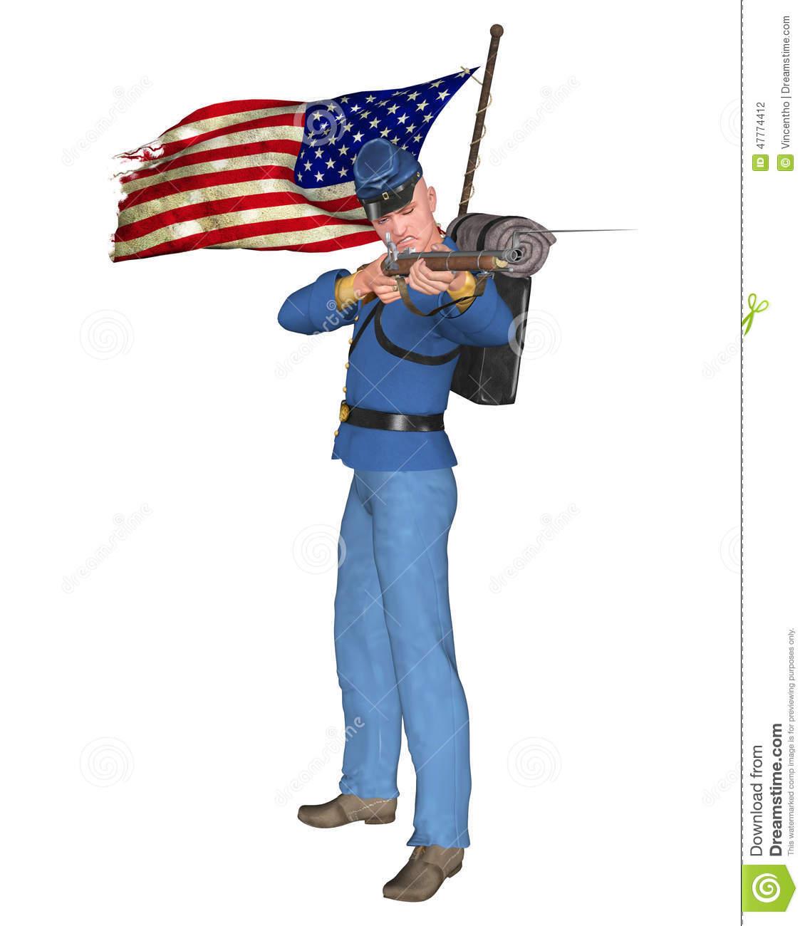 Union civil war general clipart banner transparent stock Civil War Soldier Drawing | Free download best Civil War ... banner transparent stock