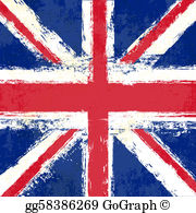 Union jack clipart free png library download Union Jack Clip Art - Royalty Free - GoGraph png library download