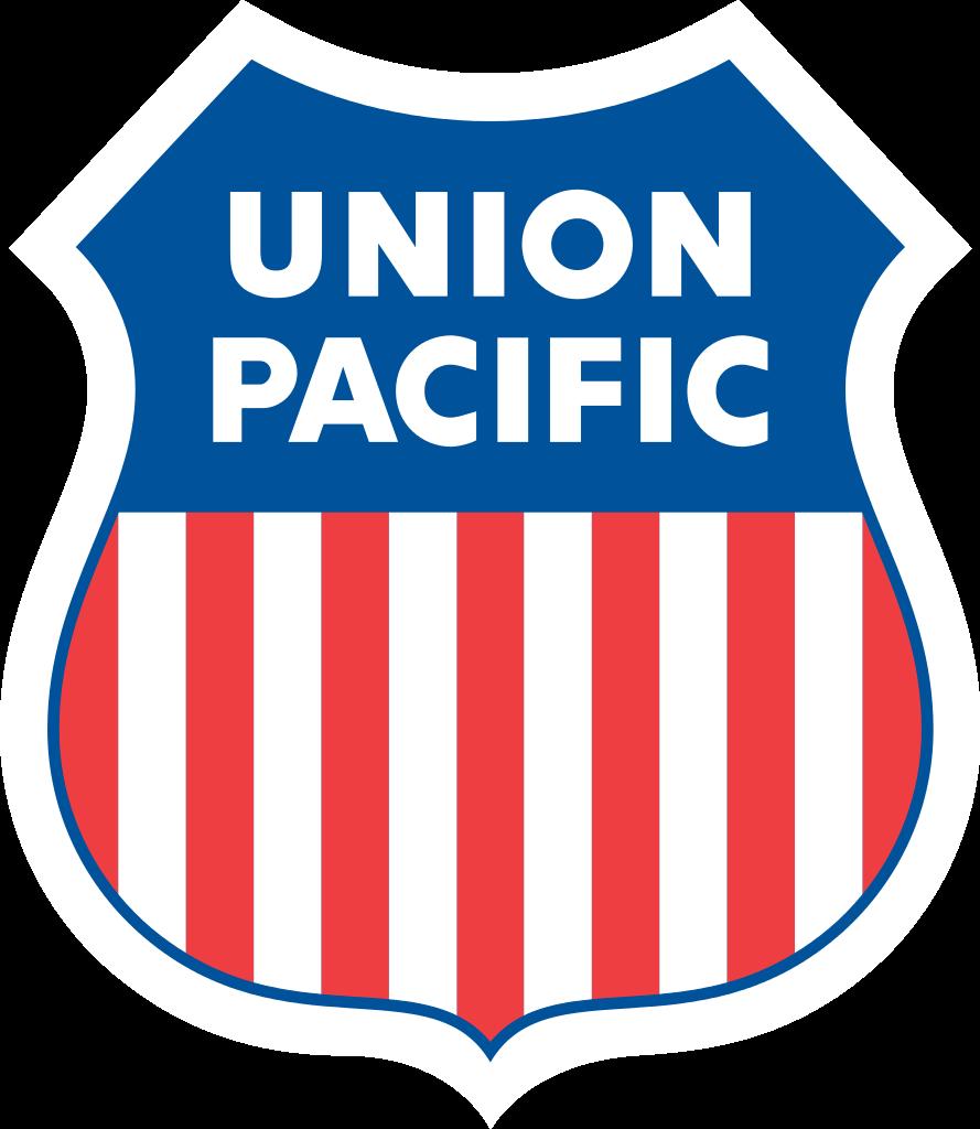 Union pacific logo clipart