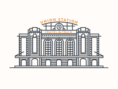 Union station clipart clip transparent download Union Station designs, themes, templates and downloadable ... clip transparent download