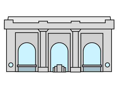 Union station kansas city clipart svg royalty free download Union Station by Cole Jurden on Dribbble svg royalty free download