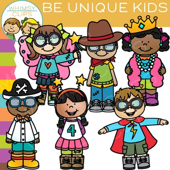 Unique features of clipart picture download Be Unique Kids Clip Art picture download