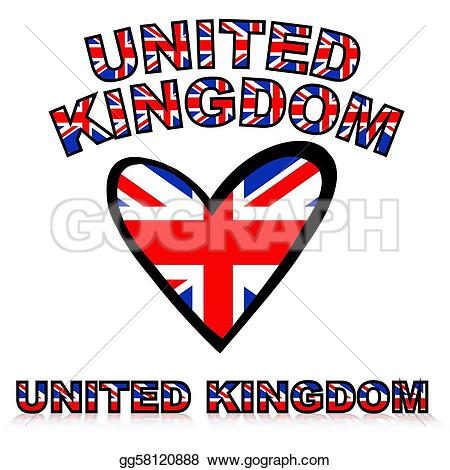 United kingdom clipart vector royalty free download Drawing - United kingdom. Clipart Drawing gg58120888 - GoGraph vector royalty free download