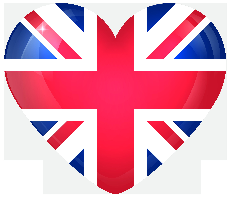 United kingdom clipart banner freeuse United Kingdom Large Heart Flag   Gallery Yopriceville - High ... banner freeuse