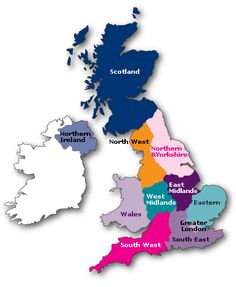 United kingdom map clipart jpg transparent stock United Kingdom (UK) and The Republic of Ireland - Editable PPT Map ... jpg transparent stock