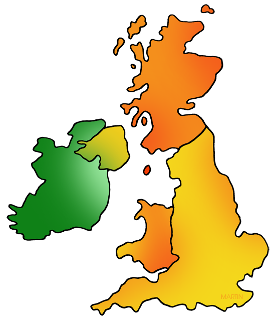 United kingdom map clipart svg library library Ireland Map Silhouette at GetDrawings.com | Free for personal use ... svg library library