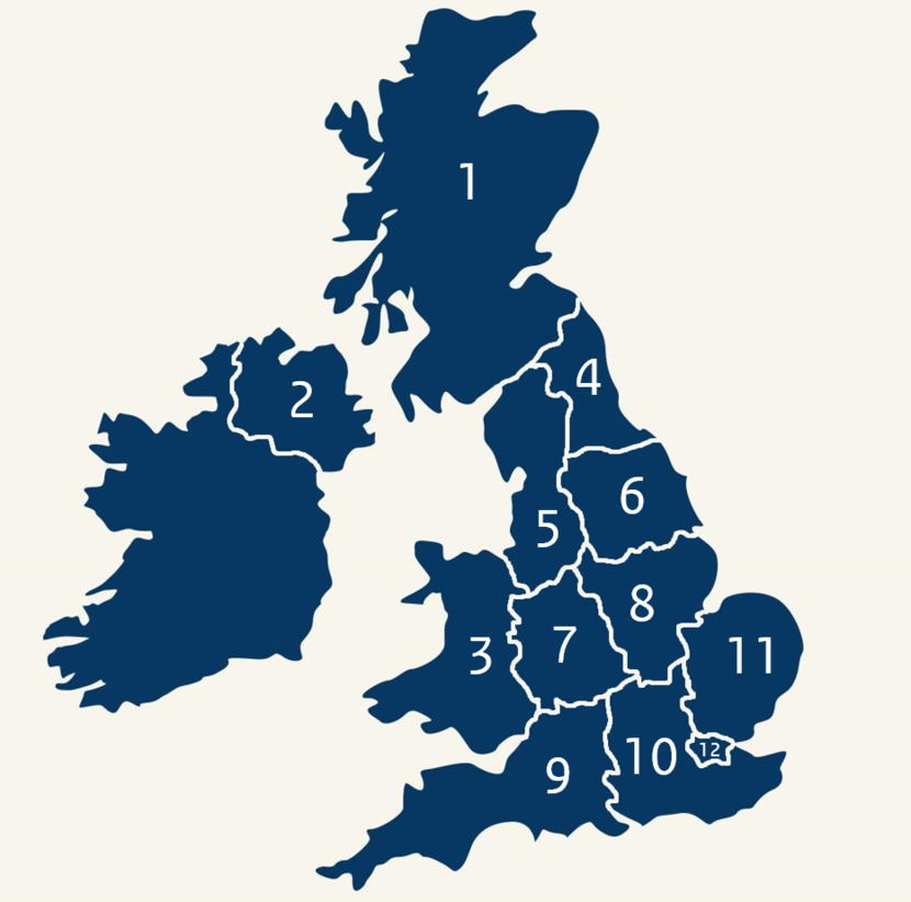United kingdom on globe clipart picture royalty free stock Regions in the United Kingdom | The United Kingdom ... picture royalty free stock