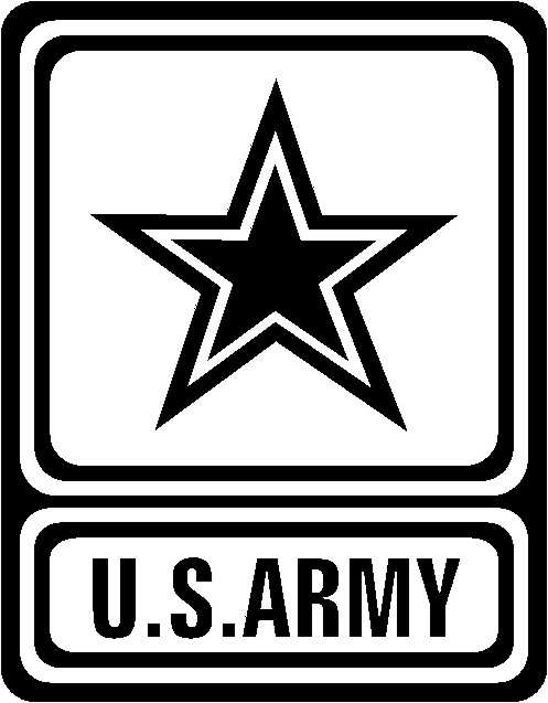 United states army clipart clip freeuse library U.s. Army Logo Black And White Clipart - Clipart Kid clip freeuse library
