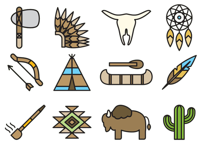 United states clip art clip royalty free stock Native Americans in the United States Clip art - Primitive life ... clip royalty free stock
