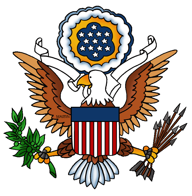 United states clipart clip library Free United States Clip Art by Phillip Martin, Great Seal of the ... clip library