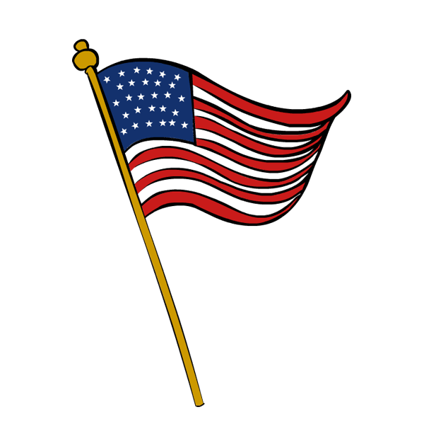 Free clipart veterans day star