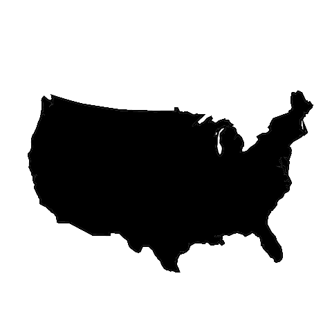 United states clipart silhouette clip library stock America Clip Art | Totally Promotional clip library stock