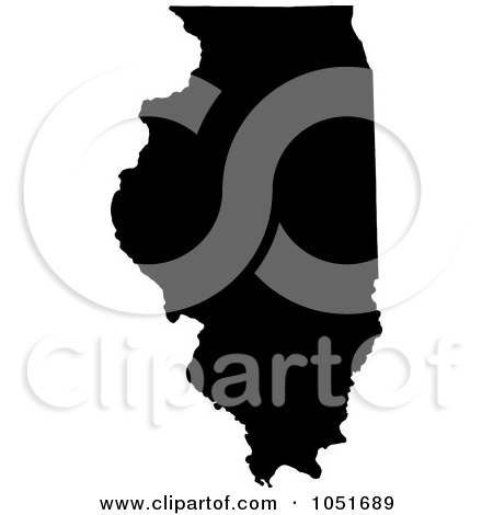 United states clipart silhouette jpg library stock Royalty-Free Vector Clip Art Illustration of a Black Silhouetted ... jpg library stock