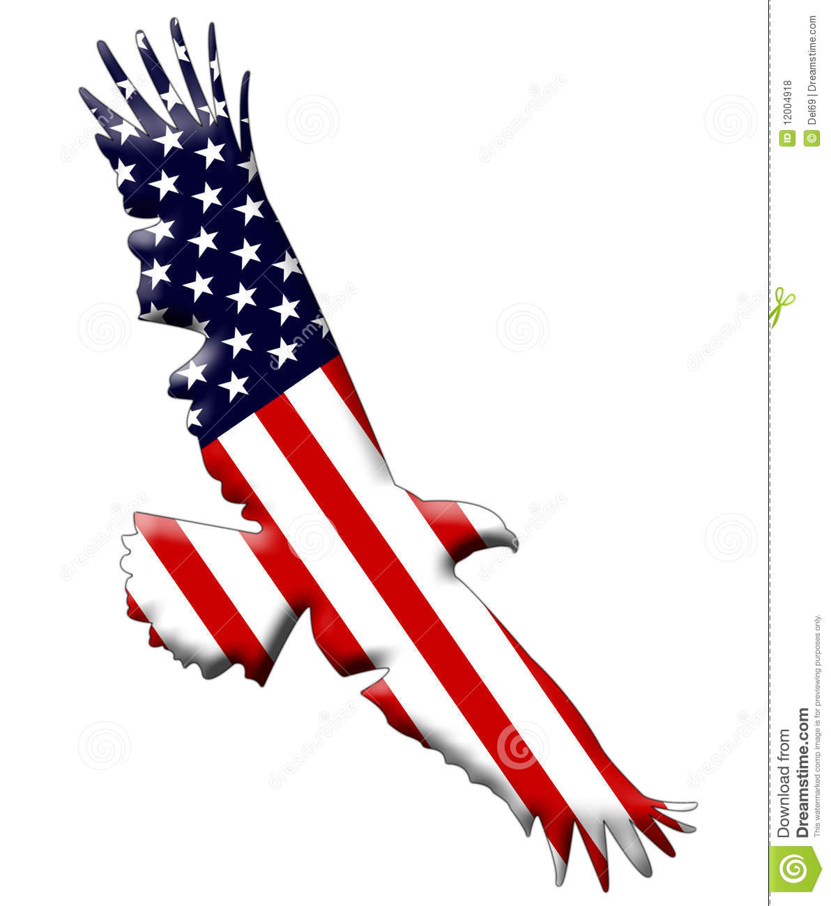 United states eagle clipart picture library library American Flag With Eagle Clipart - Clipart Kid picture library library