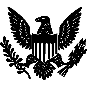 United states eagle clipart banner black and white stock United states eagle clipart - ClipartFest banner black and white stock