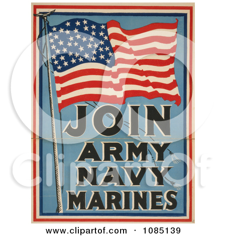 United states flag army clipart svg freeuse library American Flag For Military Recruiting Posters, Art Prints by JVPD ... svg freeuse library